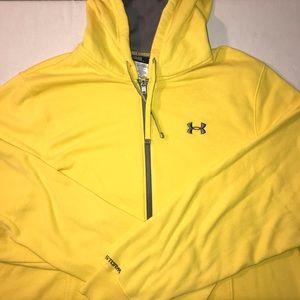 Men's under armour zip up hoodie